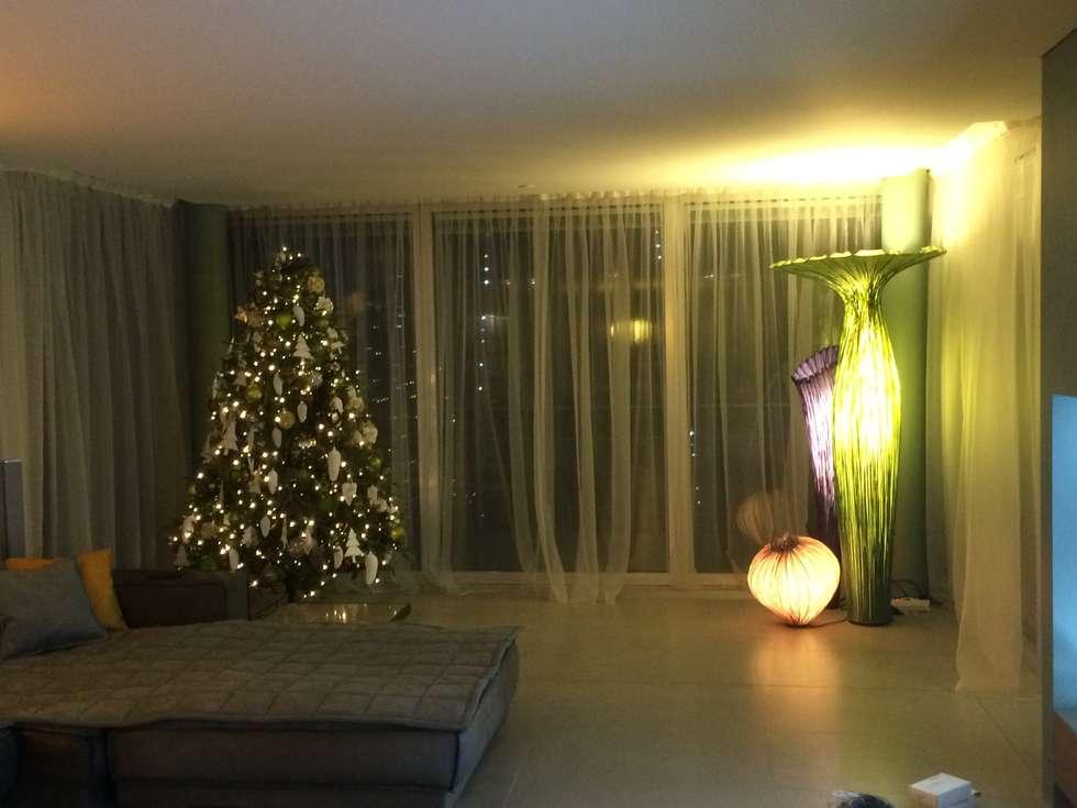 Decorare con le lampade: Soggiorno in stile in stile Moderno di DF Design