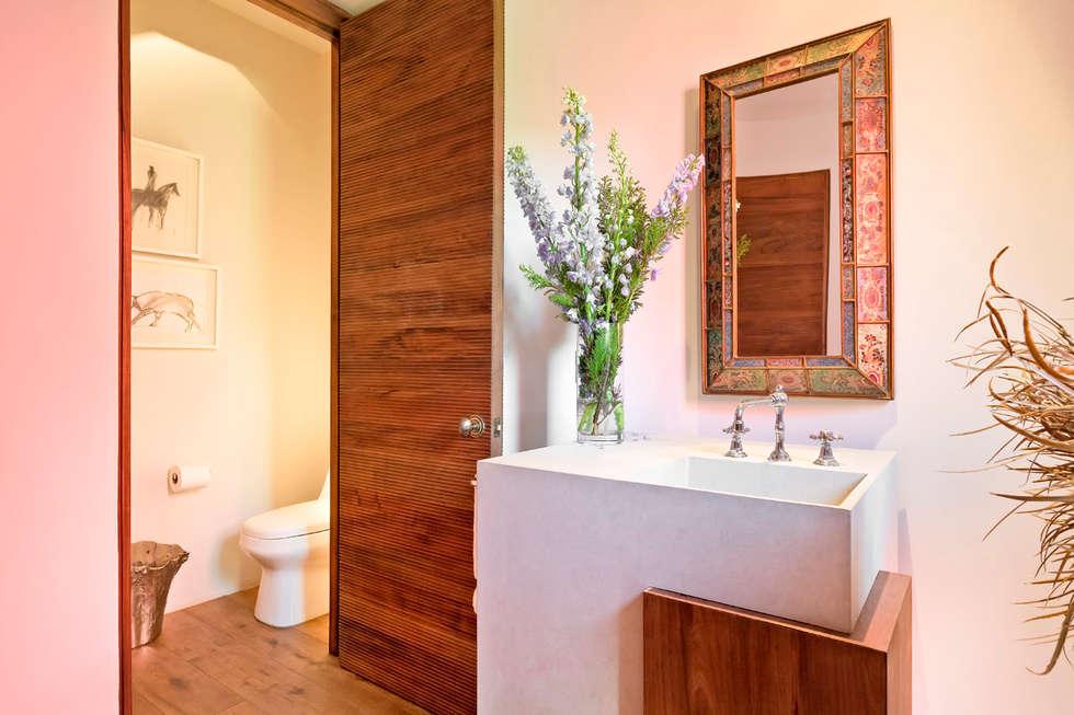 Projekty,  Łazienka zaprojektowane przez Lopez Duplan Arquitectos