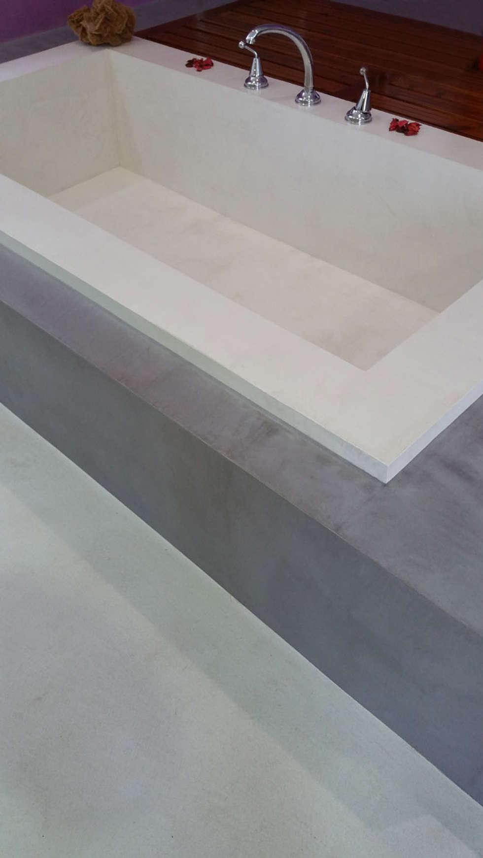 Idee arredamento casa interior design homify - Pavimenti bagno in resina ...