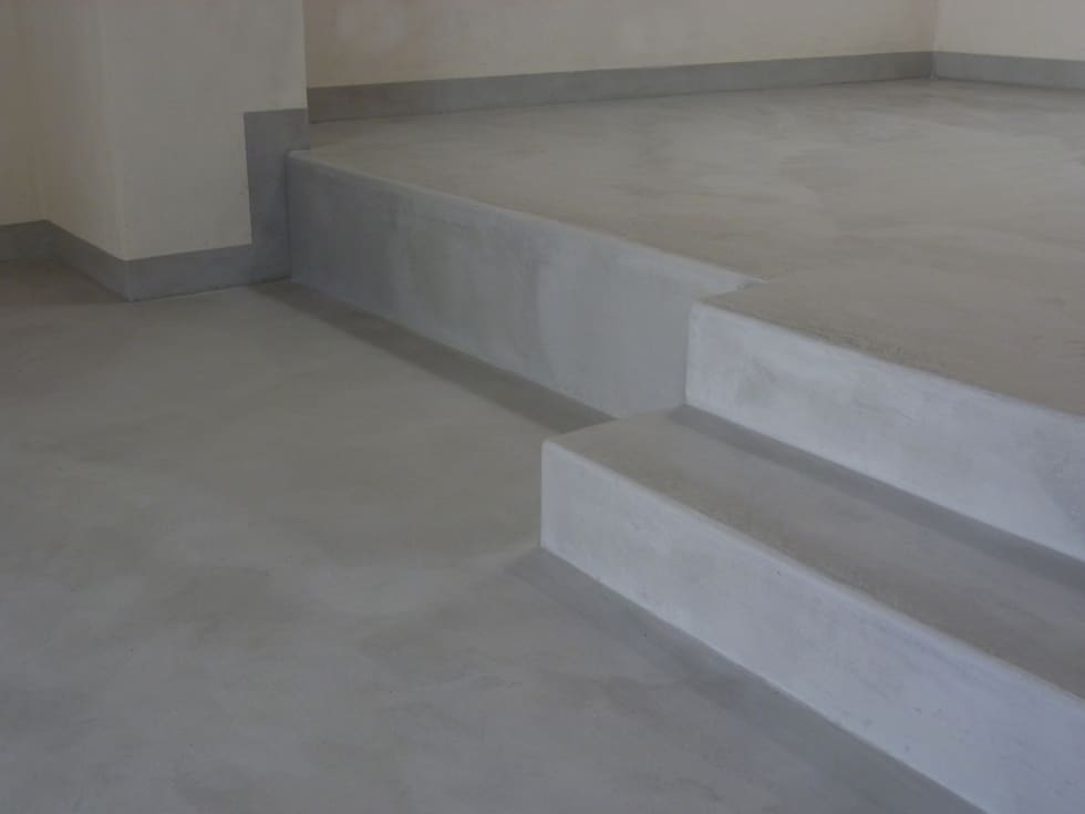 Pavimenti moderni in tadelakt per monolocale pareti in stile di pavimento moderno homify - Pavimenti per casa ...
