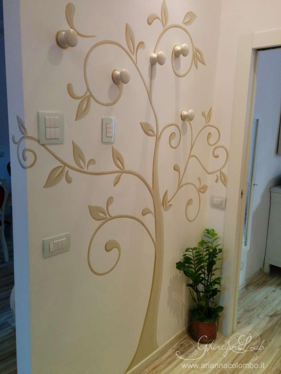 Albero stilizzato decorazione e appendino ingresso for Decorazione e design