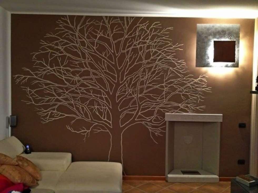 Idee arredamento casa interior design homify - Albero su parete ...