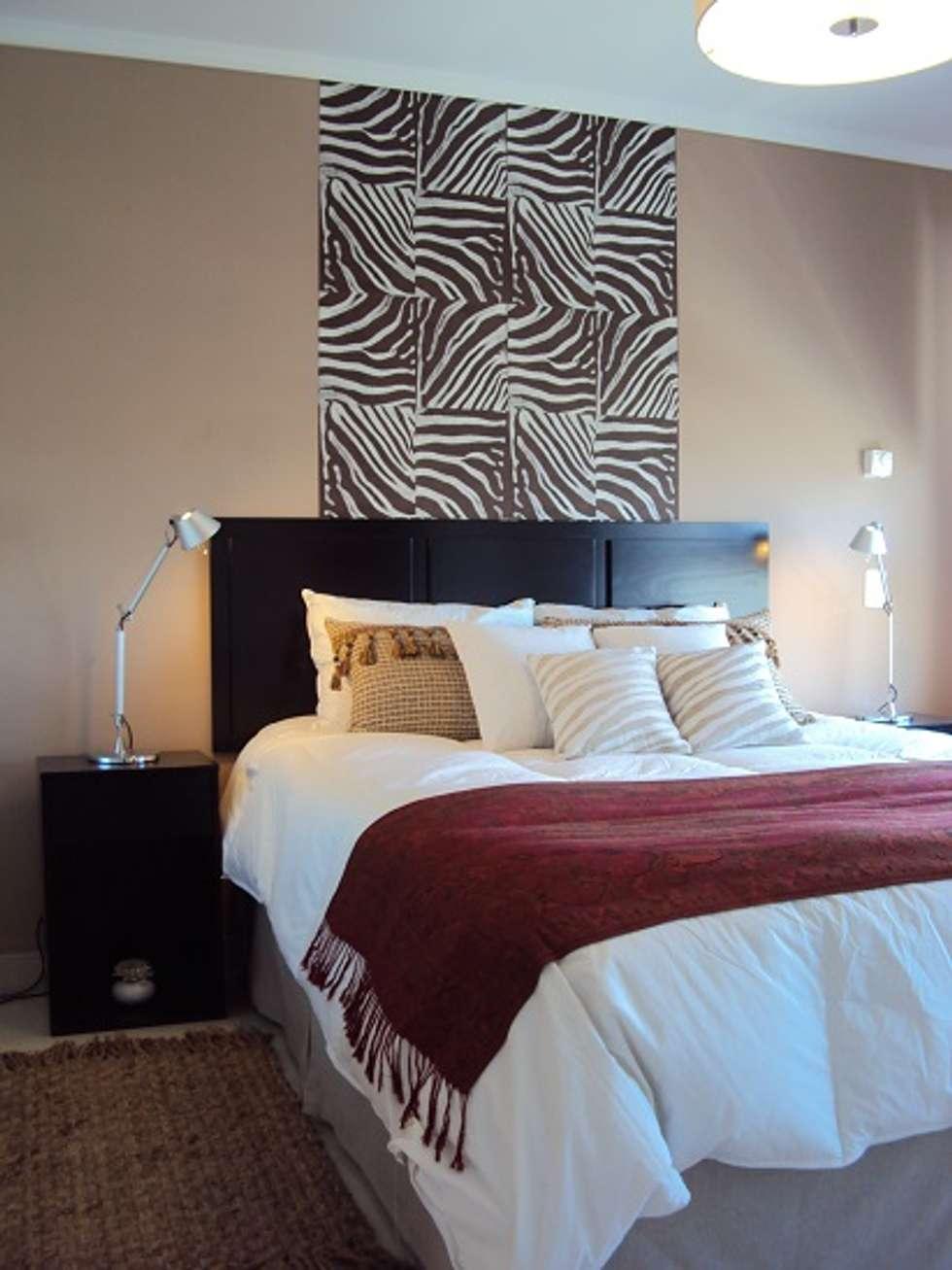 Una segunda opcion: Dormitorios de estilo ecléctico por Diseñadora Lucia Casanova