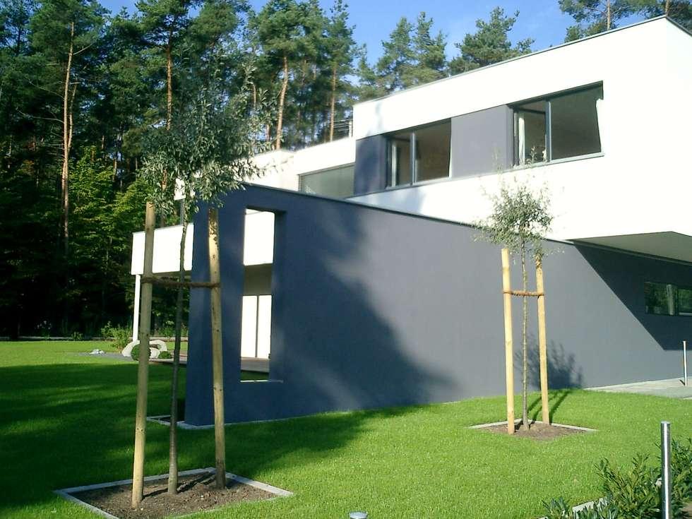 Puristische Gartengestaltung wohnideen interior design einrichtungsideen bilder homify