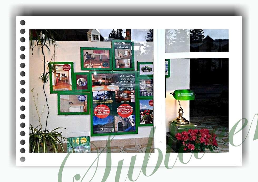 """La nostra vetrina """"green"""": Negozi & Locali commerciali in stile  di immobiliare sublacense"""