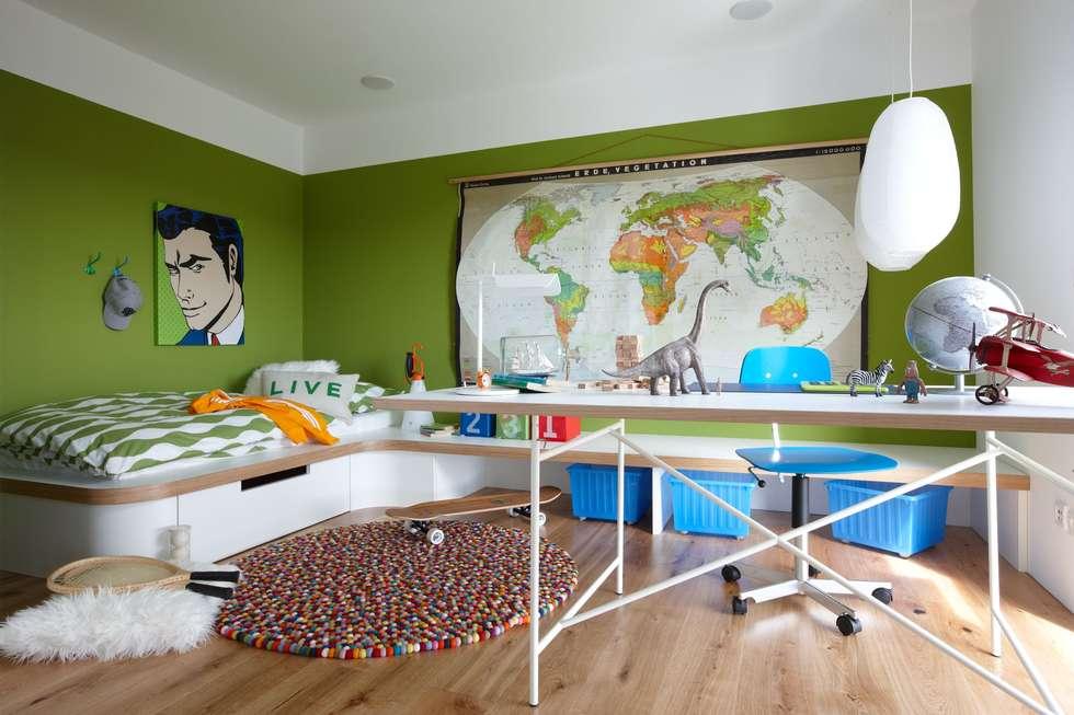 Wohnideen interior design einrichtungsideen bilder homify - Jugendzimmer mit podest ...