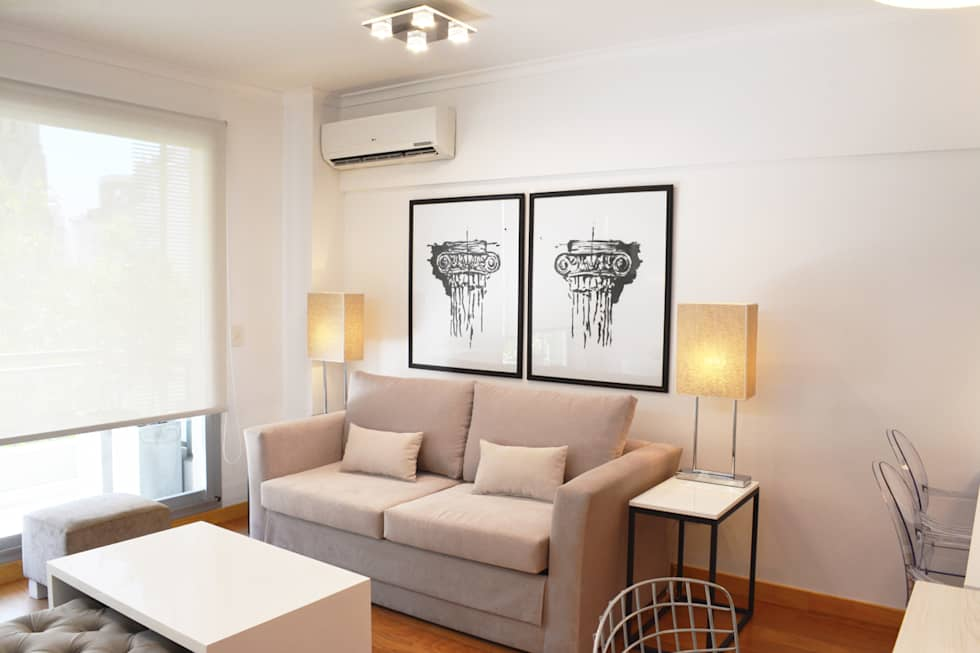 Living: Livings de estilo minimalista por Estudio Nicolas Pierry