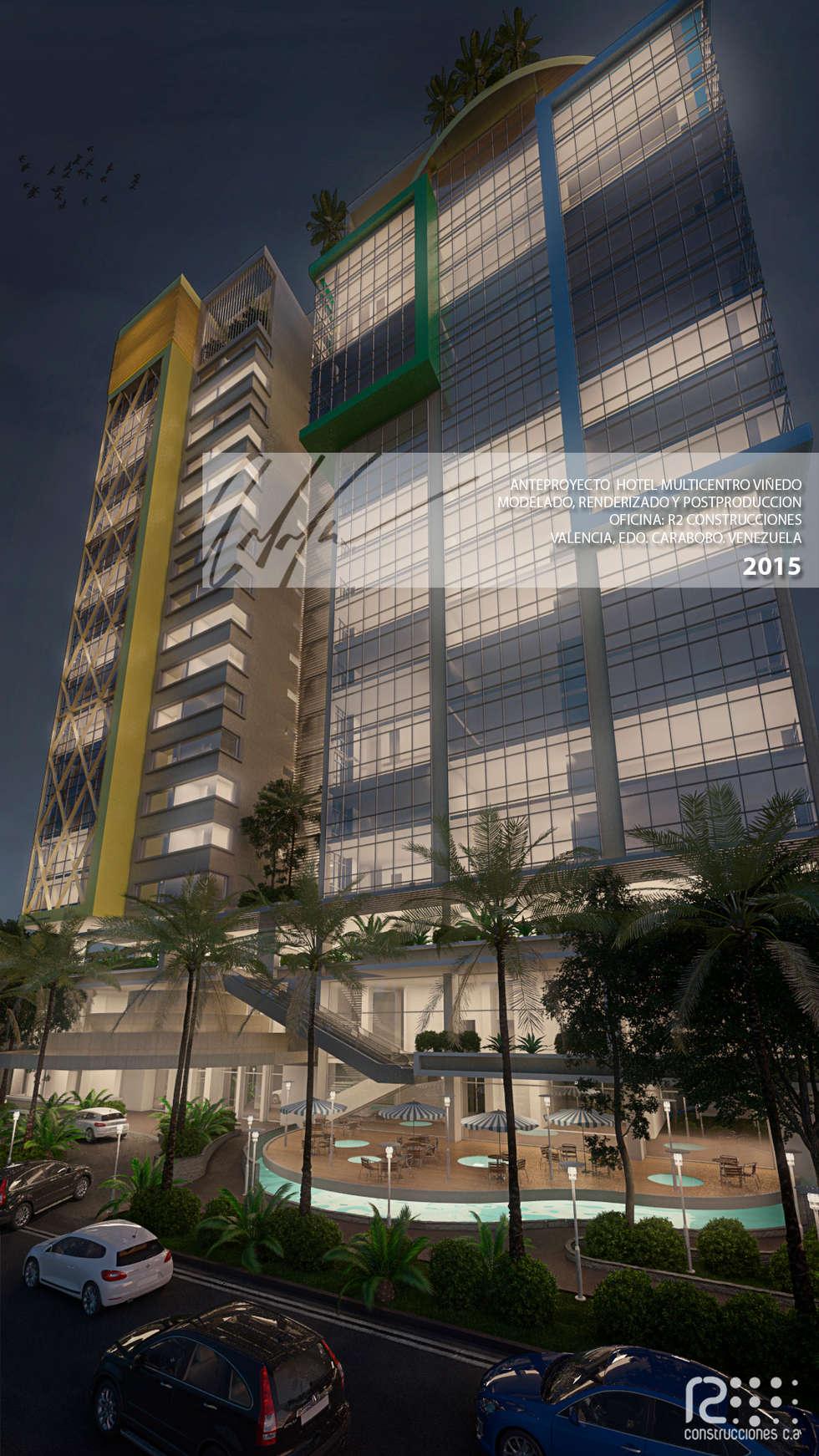 Fachada Principal: Casas de estilo moderno por Arq.AngelMedina+