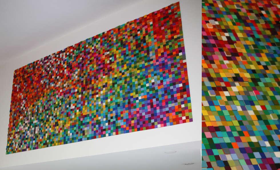 Moderne wohnzimmer von anne van den heuvel studio voor kunst