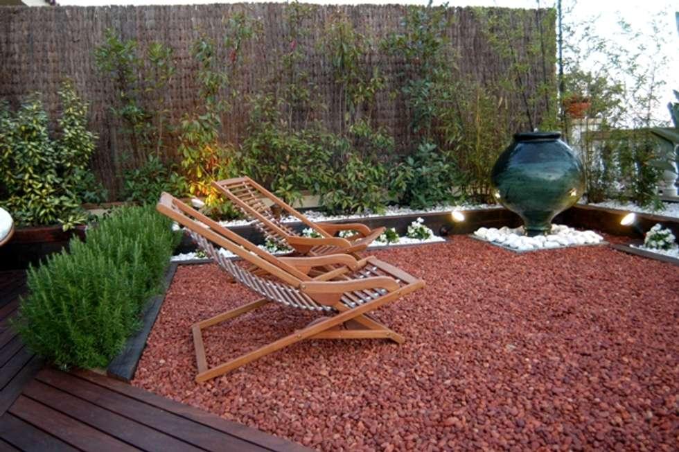 Jardines de estilo moderno de jardinista homify for Jardines modernos fotos