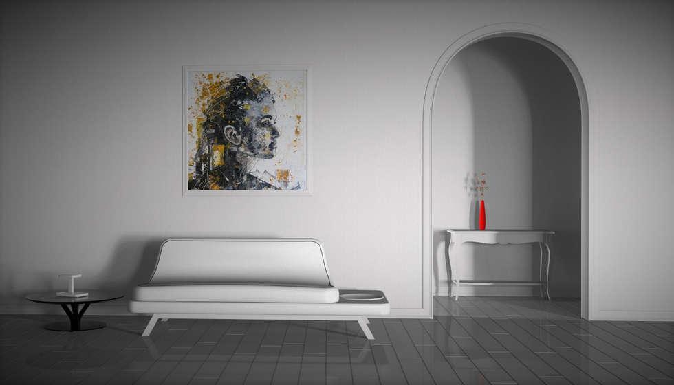 Dolphin: Soggiorno in stile in stile Moderno di Giovanni Cardinale Designer