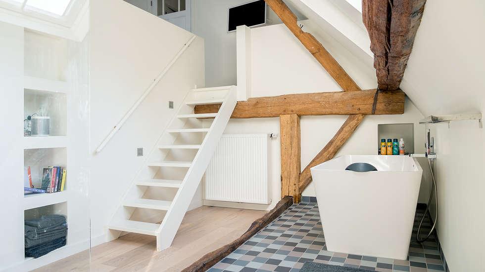 Idee n inspiratie foto 39 s van verbouwingen homify - Slaapkamer met zichtbare balken ...