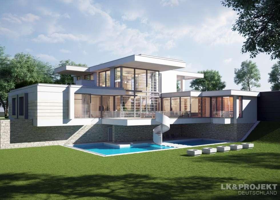 Individuelle Einfamilienhäuser : Moderne Häuser Von LKu0026Projekt GmbH