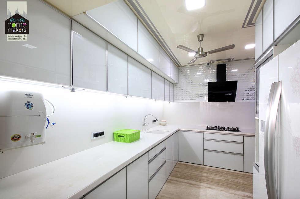 kitchen 1 modern kitchen by home makers interior designers