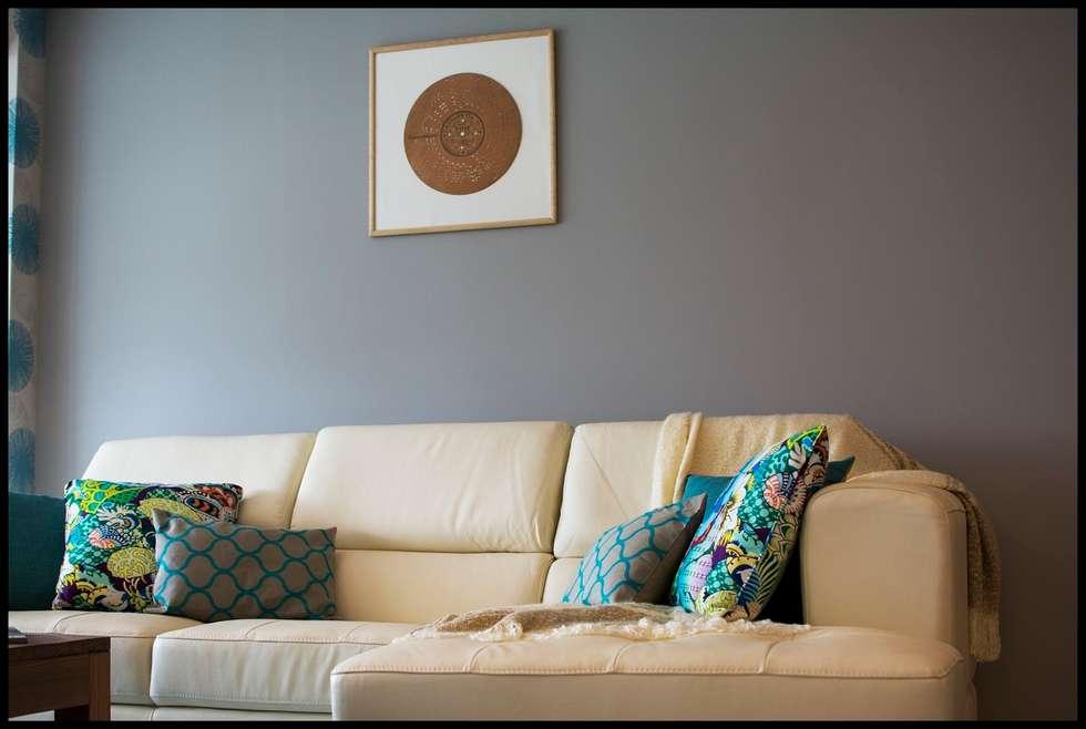 La perla del Este... : Livings de estilo ecléctico por Diseñadora Lucia Casanova