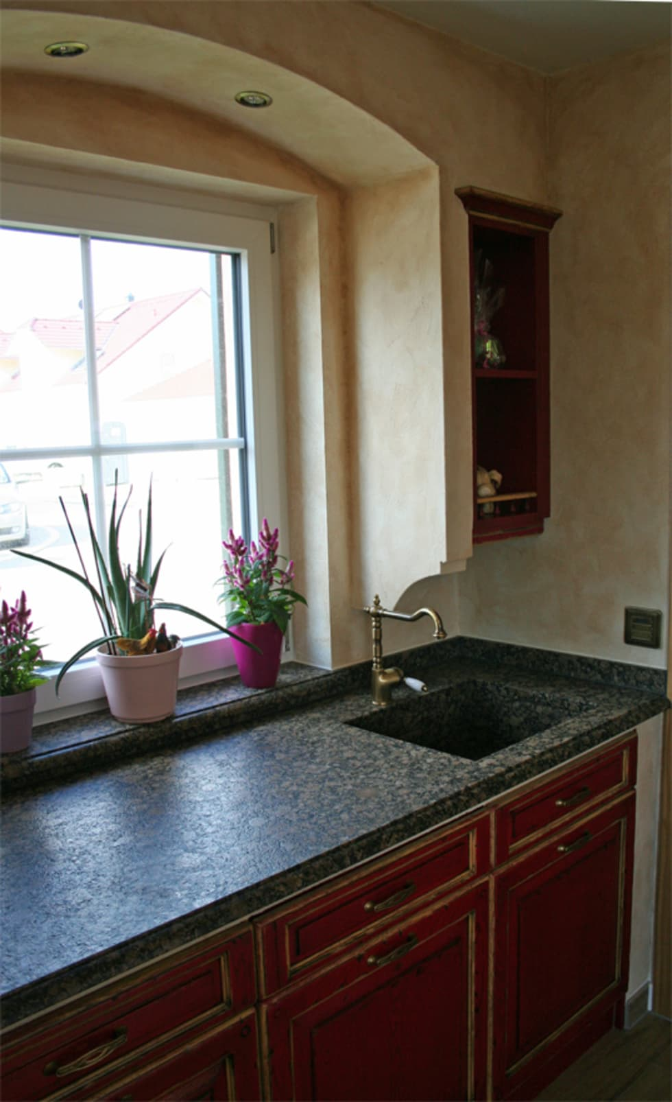 Außergewöhnlich Küche Mediterran Referenz Von Villa Medici Mediterrane Küche Nizza Eiche Rot