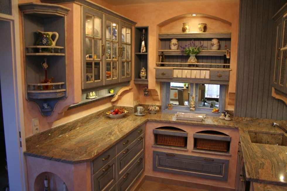 Mediterran Küche wohnideen interior design einrichtungsideen bilder homify