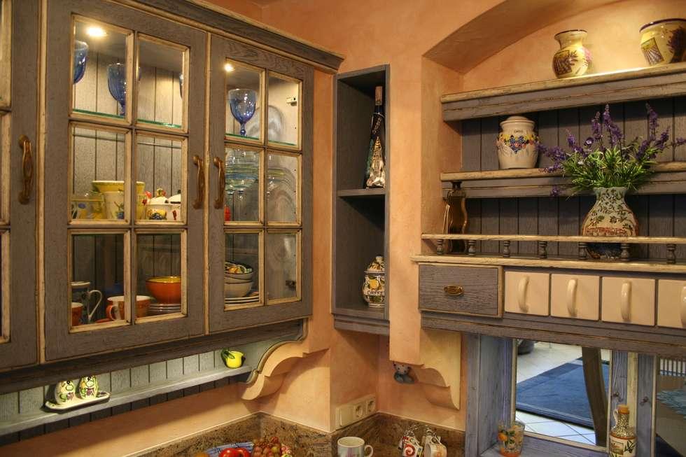 Villa Medici Mediterrane Landhausküche Blau Weiß: Landhausstil Küche Von  Villa Medici