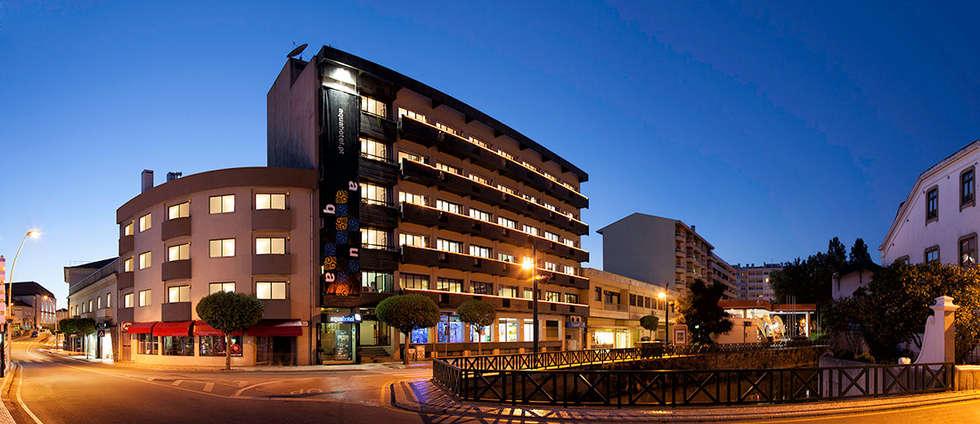 Aqua Hotel | Ovar: Casas modernas por ARKHY PHOTO