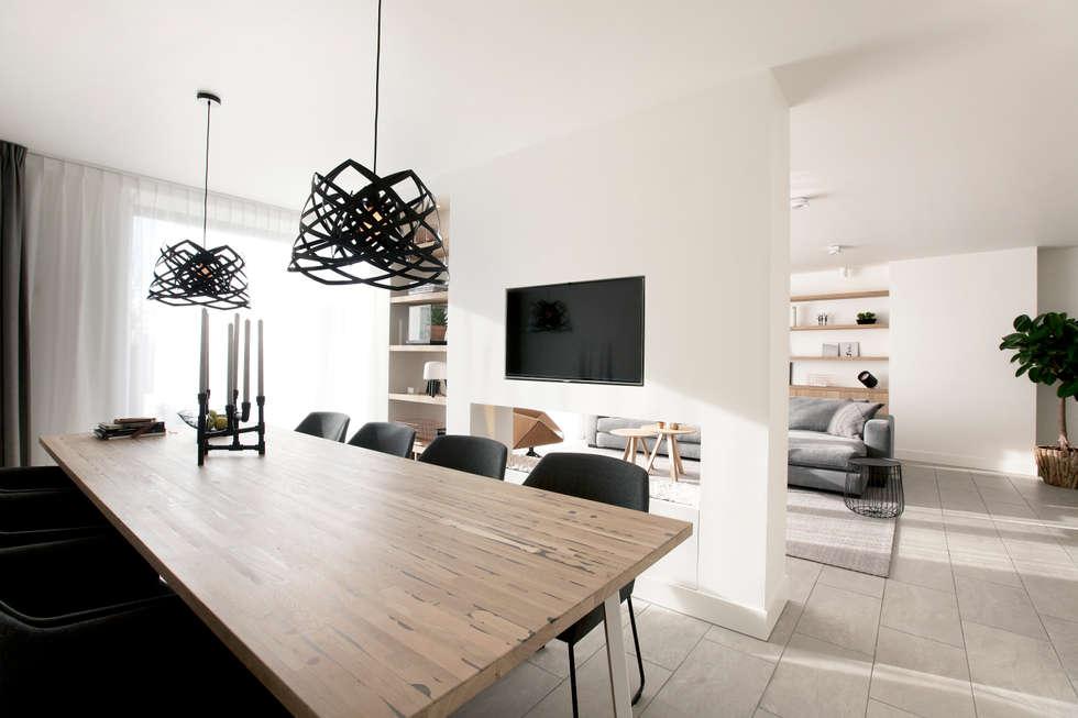 Interieur design by nicole & fleur: modern tarz yemek odası | homify
