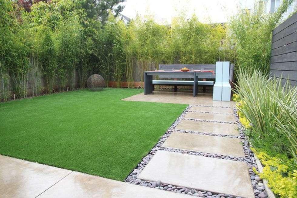Modern garden photos by seven garden homify - Home staging exterieur ...