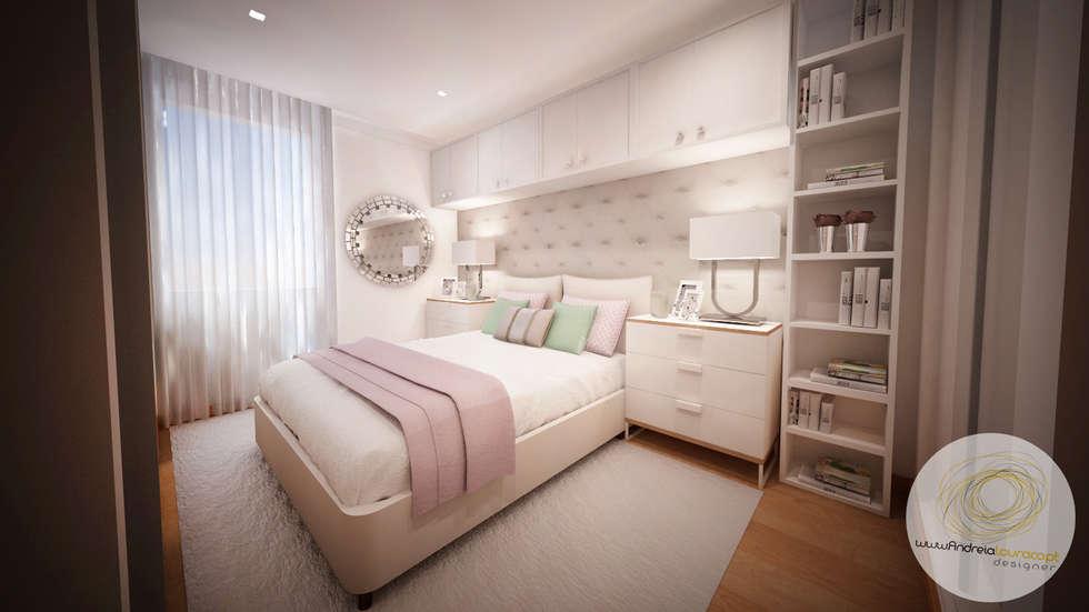 Fotos de quartos modernos projecto de decoração – quarto pequeno  homify