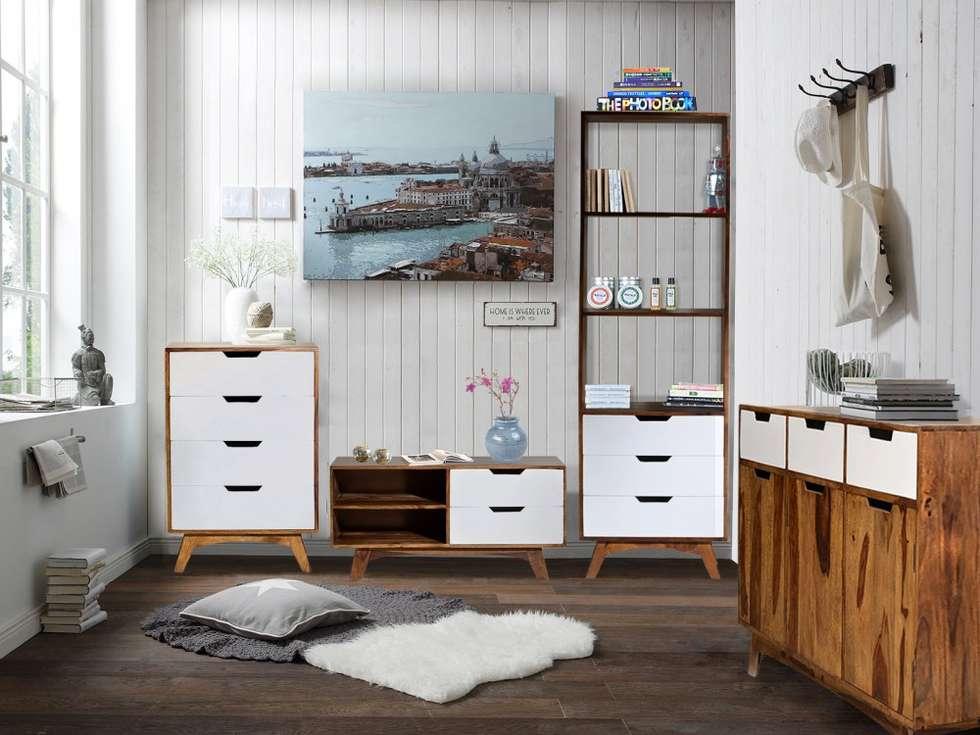 Wohnideen interior design einrichtungsideen bilder for Wohnwand 60er