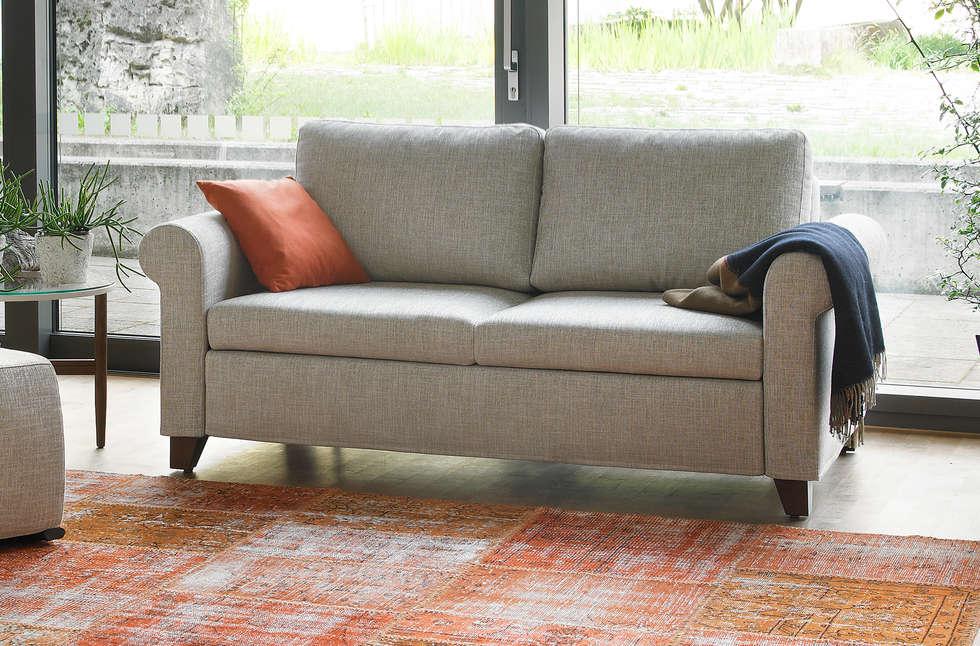 Schlafsofa duna: landhausstil wohnzimmer von sofa couture | homify