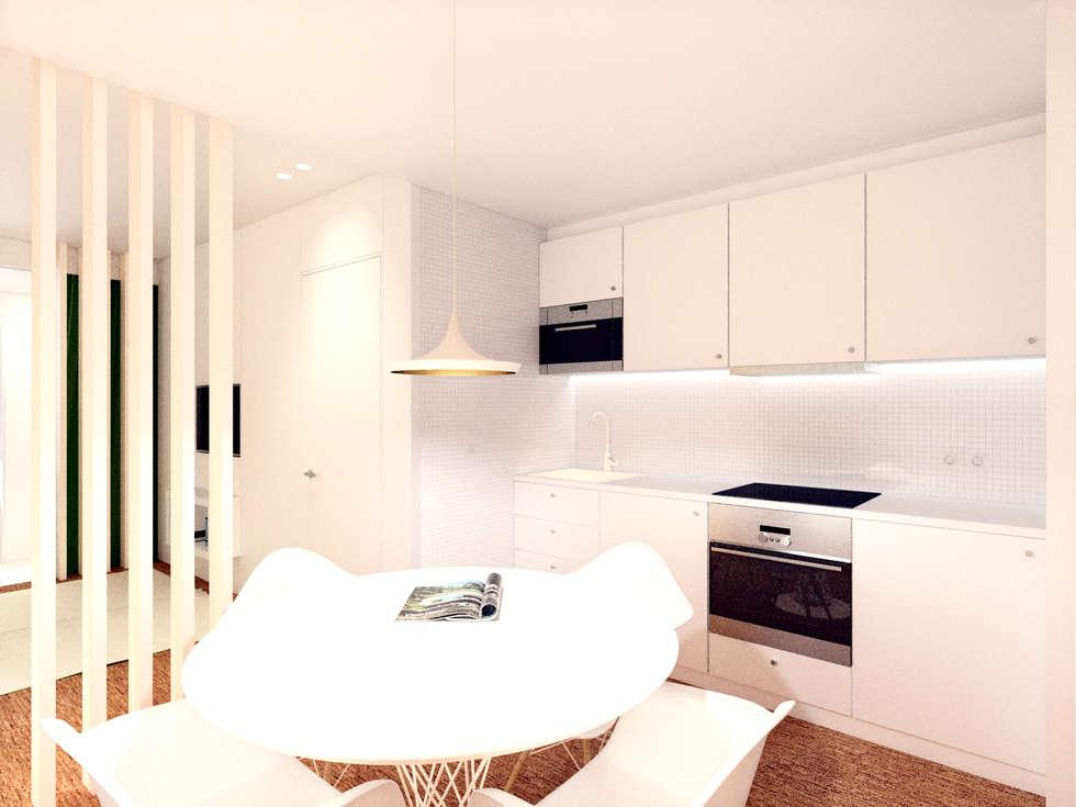 Cozinha: Cozinhas modernas por Arq. Duarte Carvalho