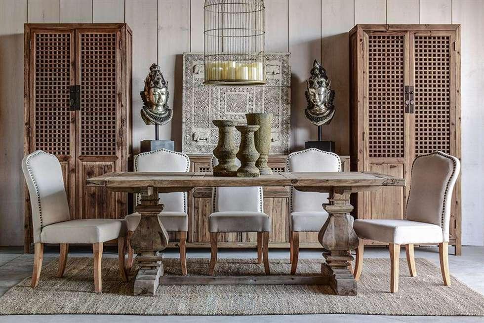 Interior design ideas redecorating remodeling photos - Comedores estilo vintage ...