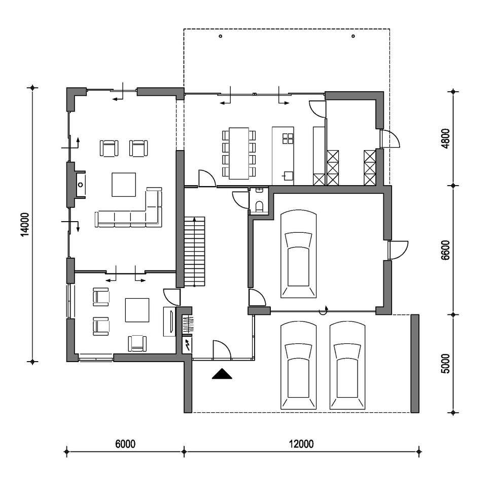 idee n inspiratie foto 39 s van verbouwingen homify On moderne villa plattegrond