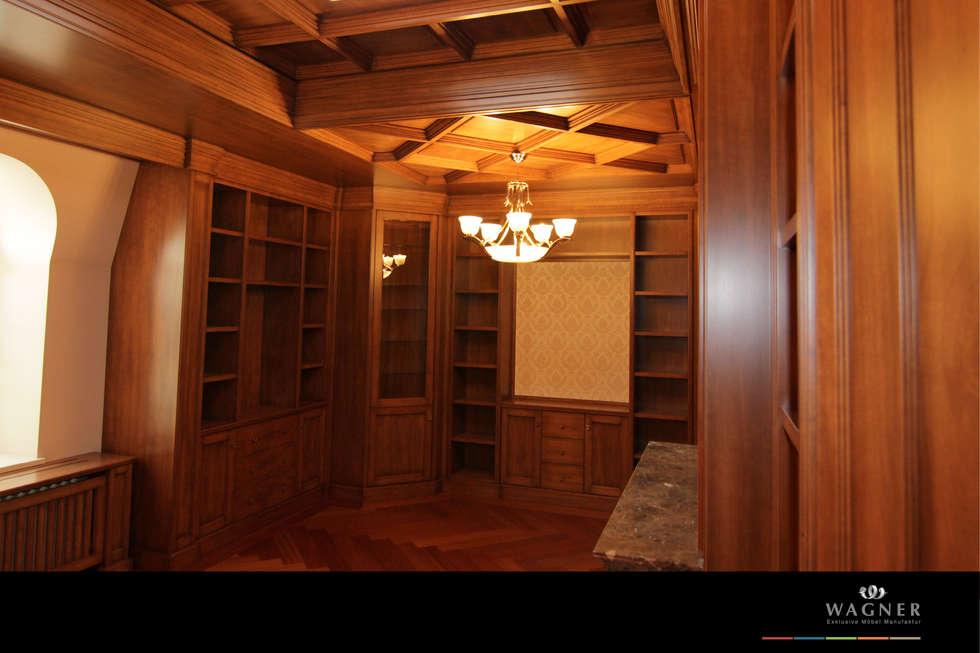 klassische designer mobel von turati boiseries, bibliothek: klassische arbeitszimmer von wagner möbel manufaktur, Design ideen