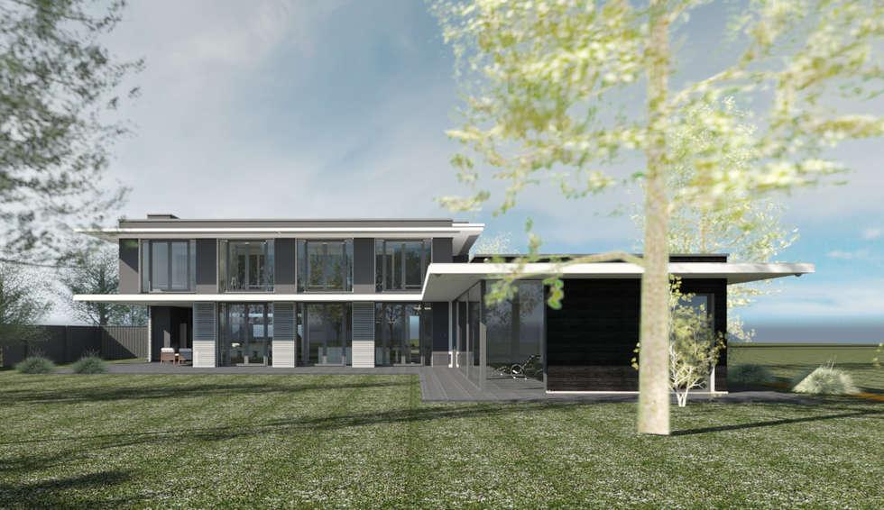 Idee n inspiratie foto 39 s van verbouwingen homify - Foto gevel moderne villa ...