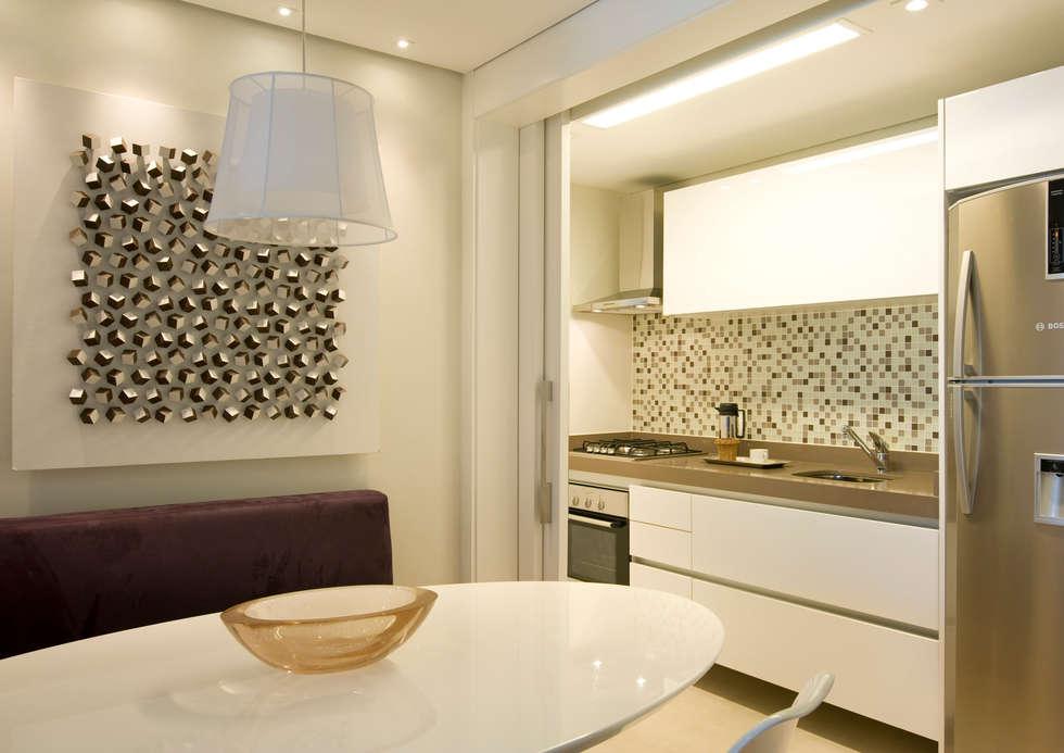 Sala De Jantar Integrada ~ Sala de Jantar integrada à Cozinha Salas de jantar modernas por