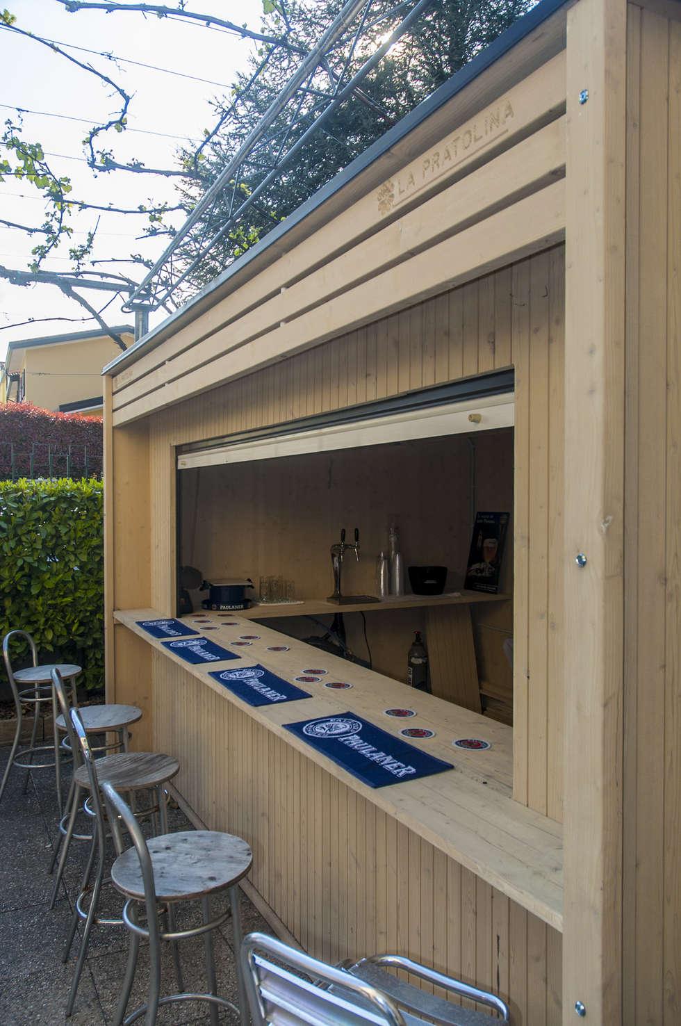 Il chiosco dinamico e di design: Bar & Club in stile  di La Pratolina