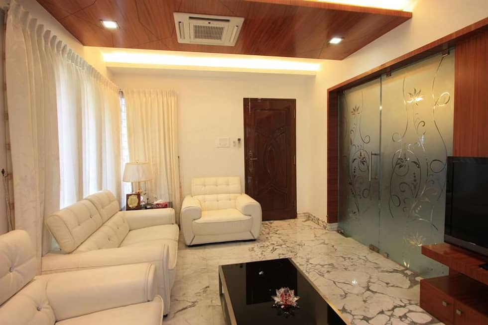 Drawing room: modern living room by ansari architects | homify