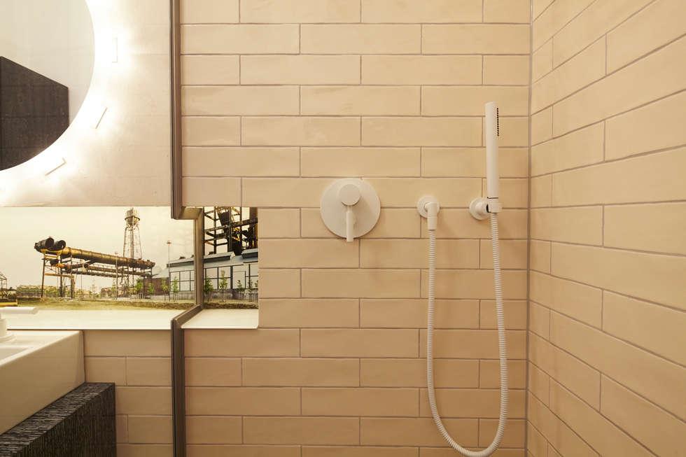 Bad altbau dortmund moderne badezimmer von raumgesp r innenarchitektur design homify - Altbau badezimmer ...