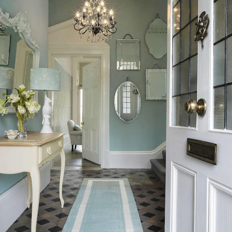 Decoracion pasillos y recibidores decorar low cost - Decoracion de recibidores ...