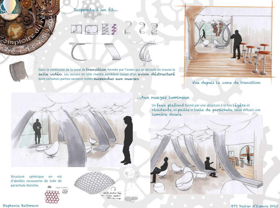Comptoir du rêve. 9: Garage / Hangar de style de style eclectique par Sb Design Concept