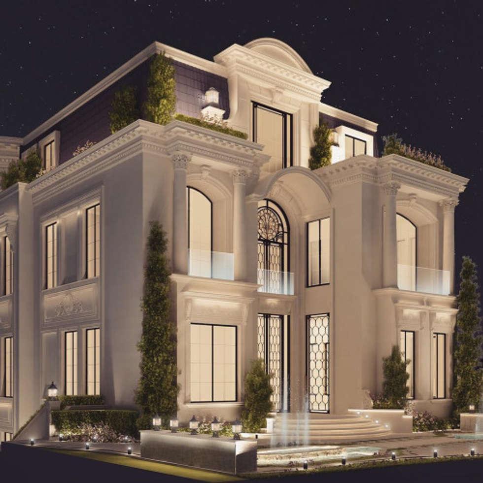 interior design architecture by ions design dubai uae classic