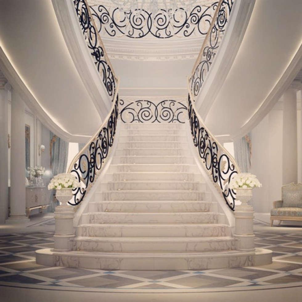 Interior Designs Stairs Location: Interior Design & Architecture By Ions Design Dubai,uae