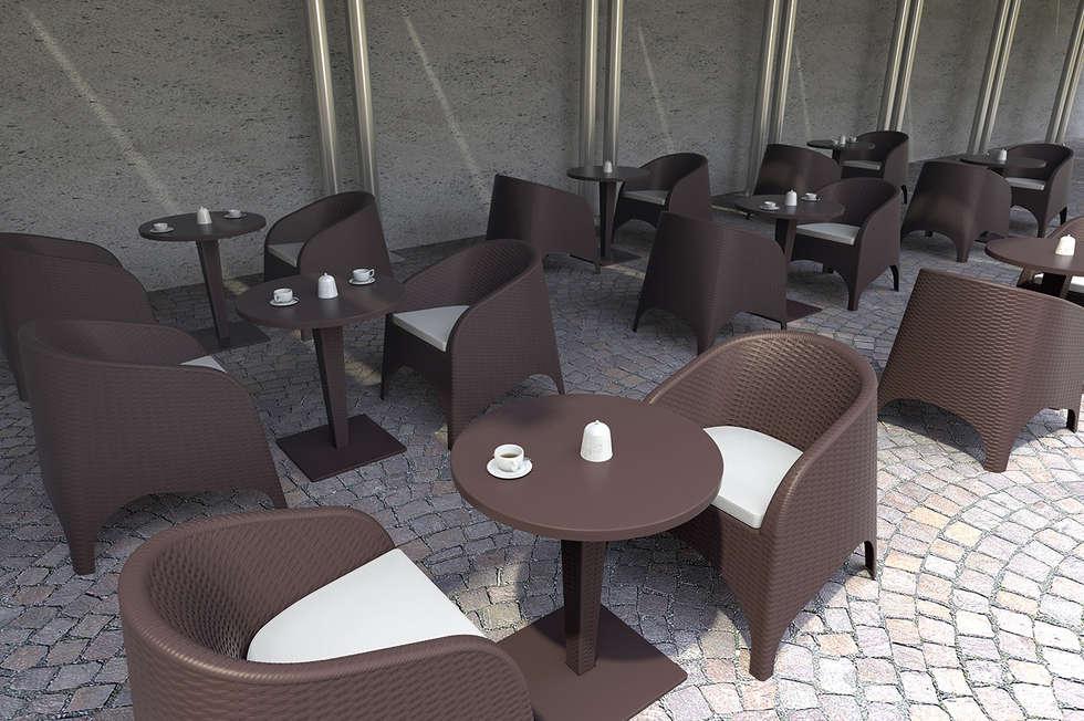 Arcange par Coffee Meuble: Jardin de style de style Moderne par Coffee Meuble