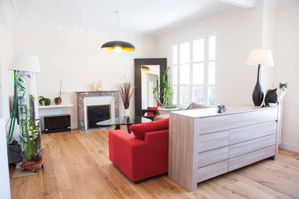 Salon: Salon de style de style Classique par Olivier Olindo Architecte