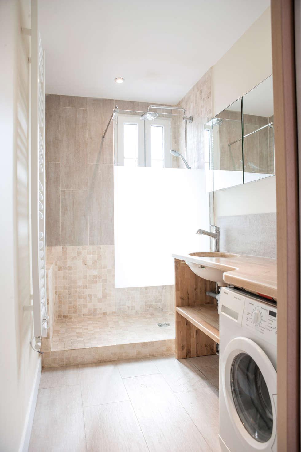 salle de bain 03: Salle de bains de style  par Olivier Olindo Architecte