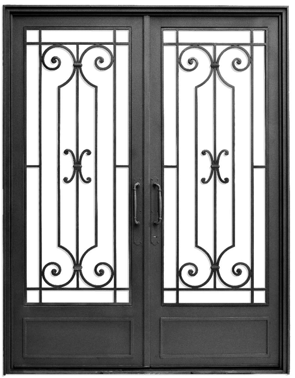 Puerta de acceso: Casas de estilo clásico por DEL HIERRO DESIGN