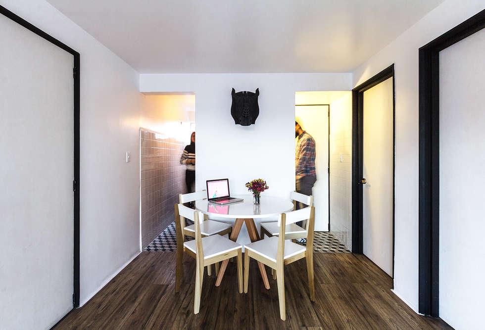 Comedor: Salas de estilo moderno por DOSA studio