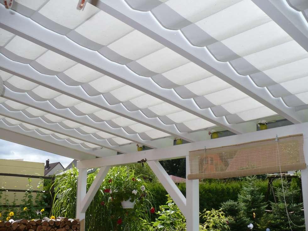 Interior design ideas architecture and renovating photos - Toldos para patios ...