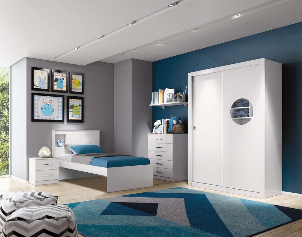 Projekty,  Sypialnia zaprojektowane przez Henn