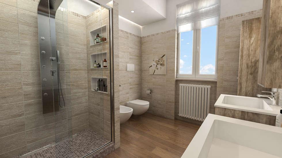 Idee arredamento casa interior design homify for Progetti bagni moderni