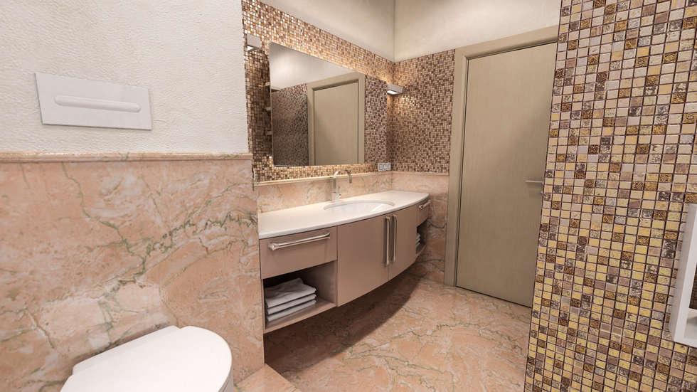 foto di bagno in stile in stile moderno : progetti di ... - Progetti Di Bagni Moderni